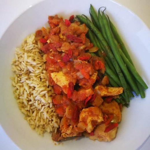curry berry recipe