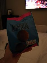 GIGANTIC chocolate buttons