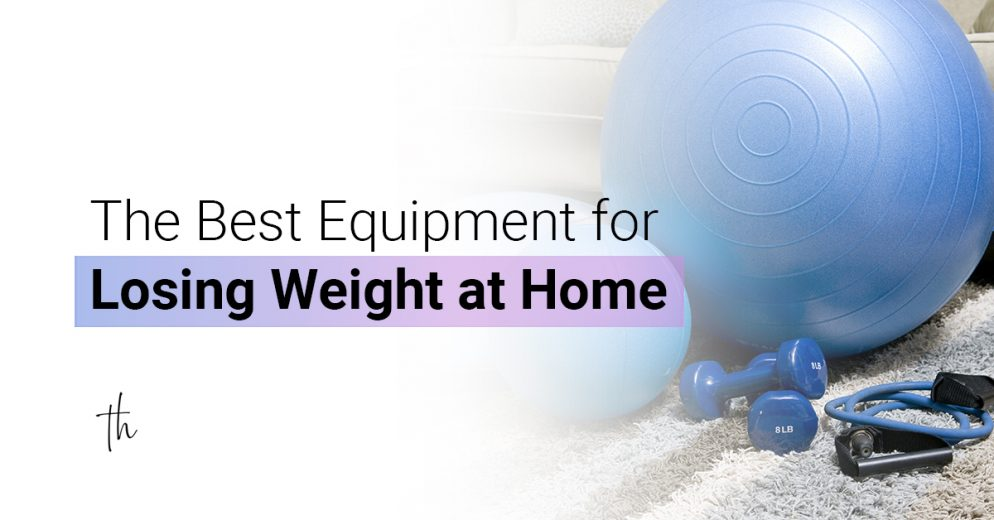 The best equipment for losing weight at home