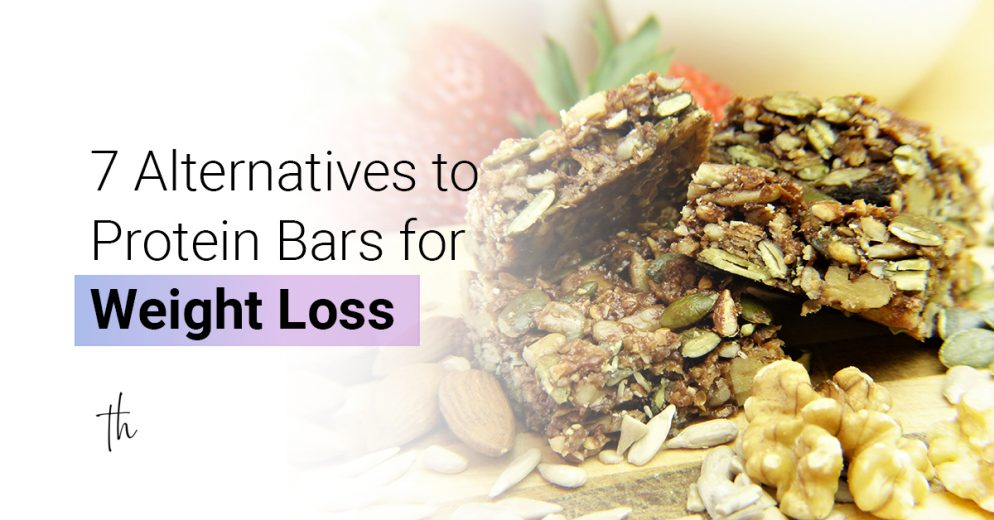 7 alternatives to protein bars for weight loss