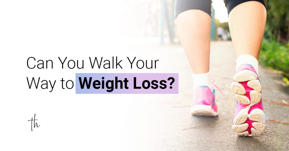 Can you walk your way to weight loss